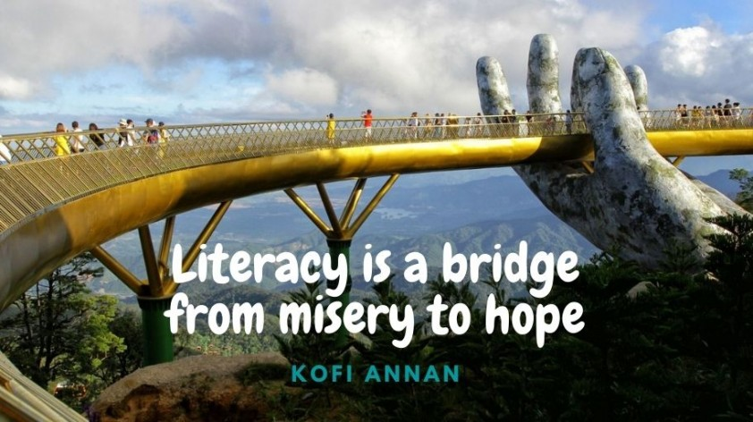 Literacy today requires more than just being able to read and write